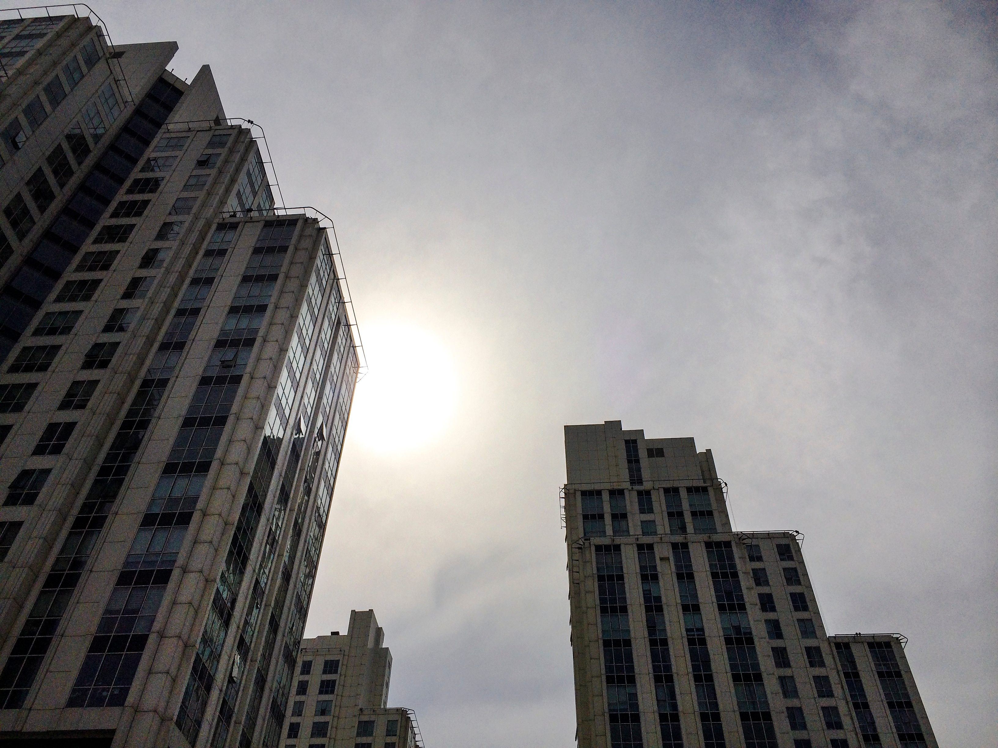 View of a high rises, some with units that were used for a partial 1031 exchange.