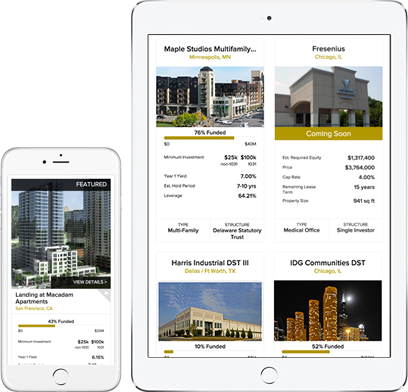 iPhone and iPad Displaying Deal Listings