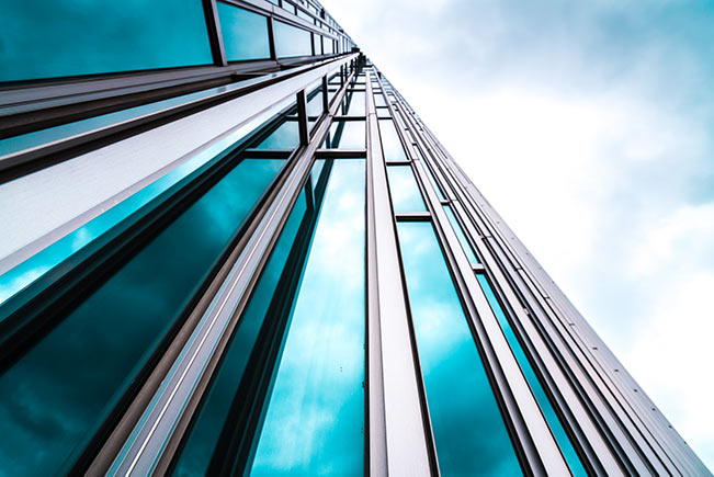 blue-building-and-sky-IS-1157584642