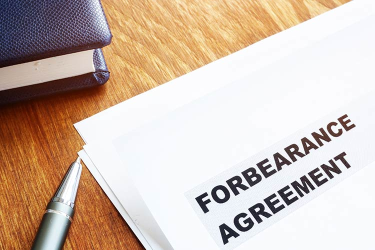 forbearance-agreement-papers-pen-IS-1198833954