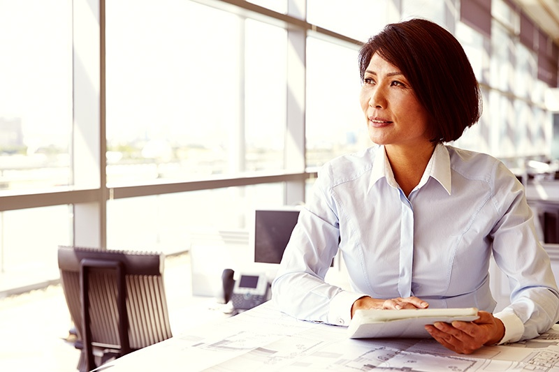 A woman in Japan considering a 1031 exchange in the United States.