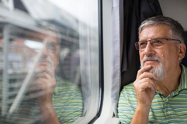 A man ponders on the idea of a 1031 exchange.