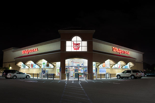 A Walgreens NNN retail store, an example of a credit tenant.