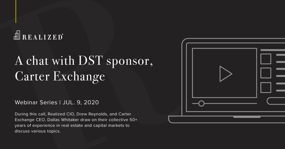 A chat with DST sponsor, Carter Exchange