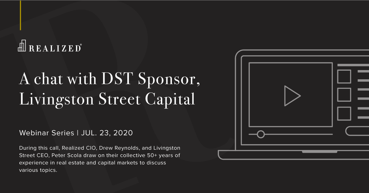 A chat with DST Sponsor, Livingston Street Capital