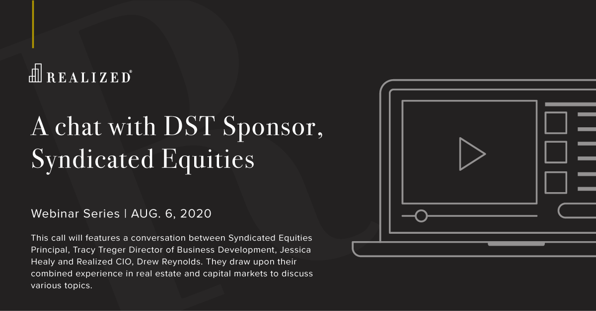 A chat with DST Sponsor, Syndicated Equities
