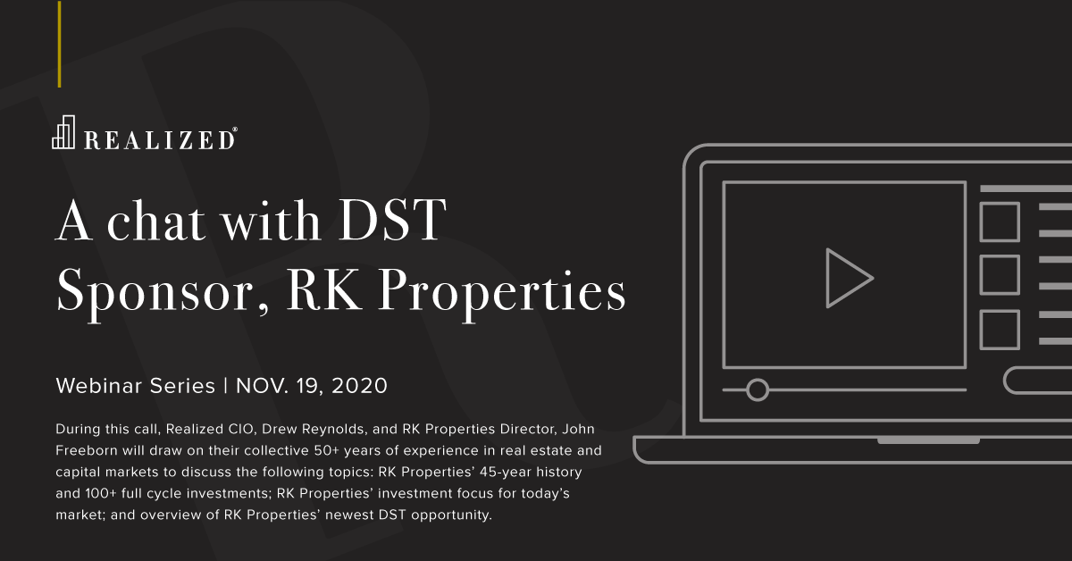 A chat with DST Sponsor, RK Properties